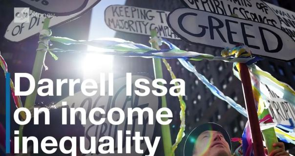 darrellissa income inequality